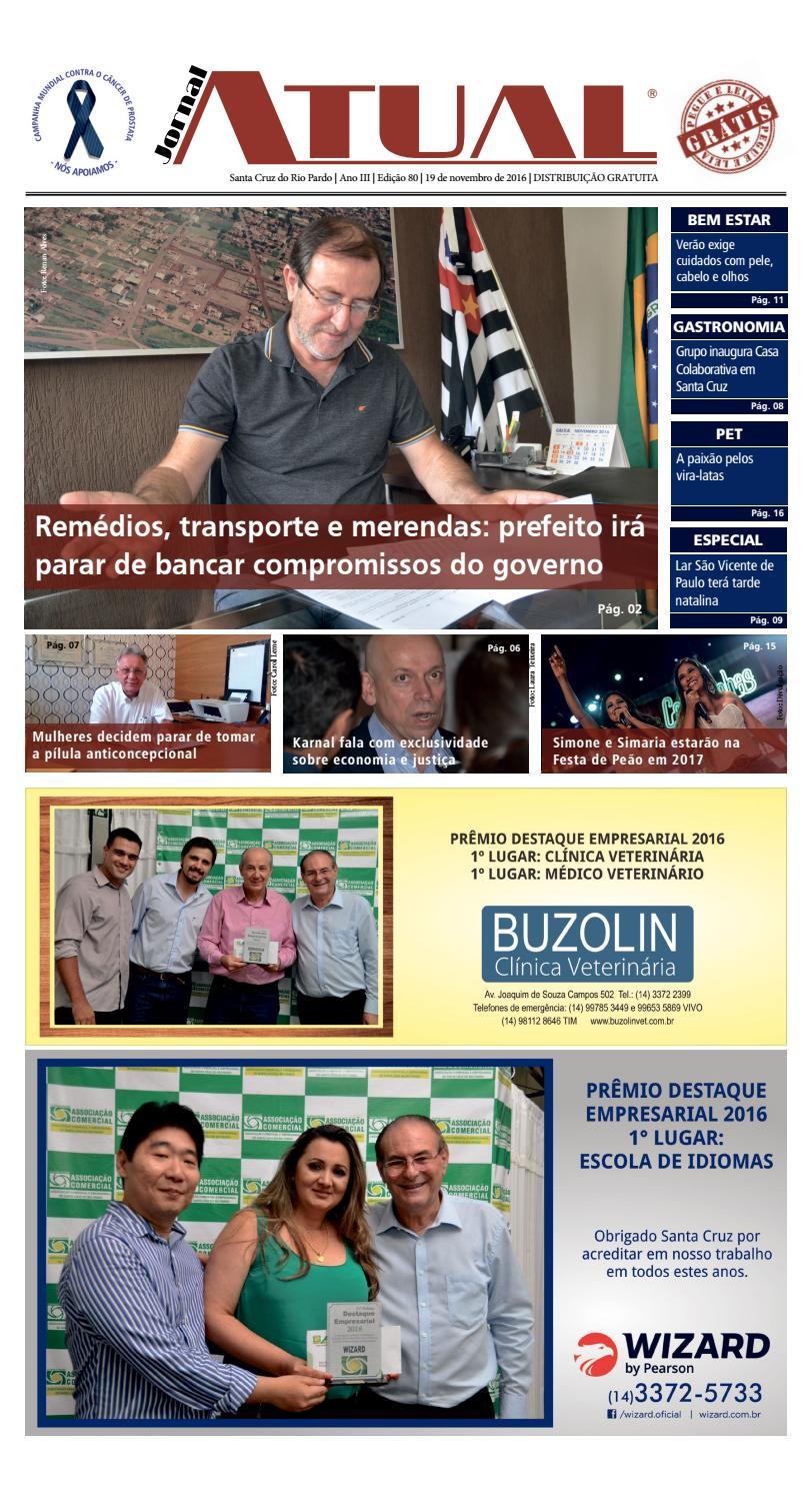 9e2925c252ea8 Edição 80 by Jornal Atual - issuu