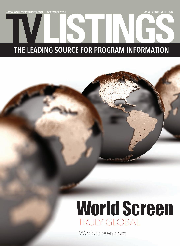 TV Listings ATF 2016 by World Screen - issuu