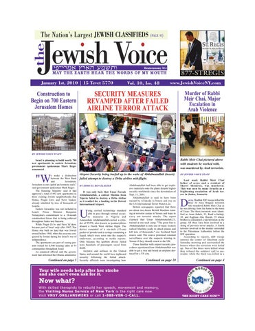 ffa0c4f4d3d8 20100101 jewishvoice by Mike Kurov - issuu