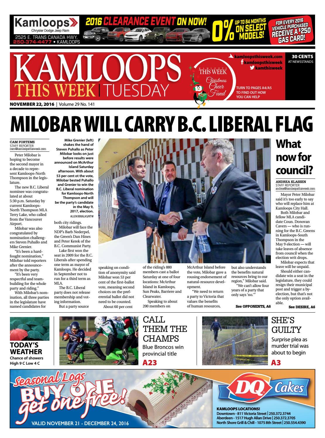 6dbfd9f942 Kamloops This Week November 22