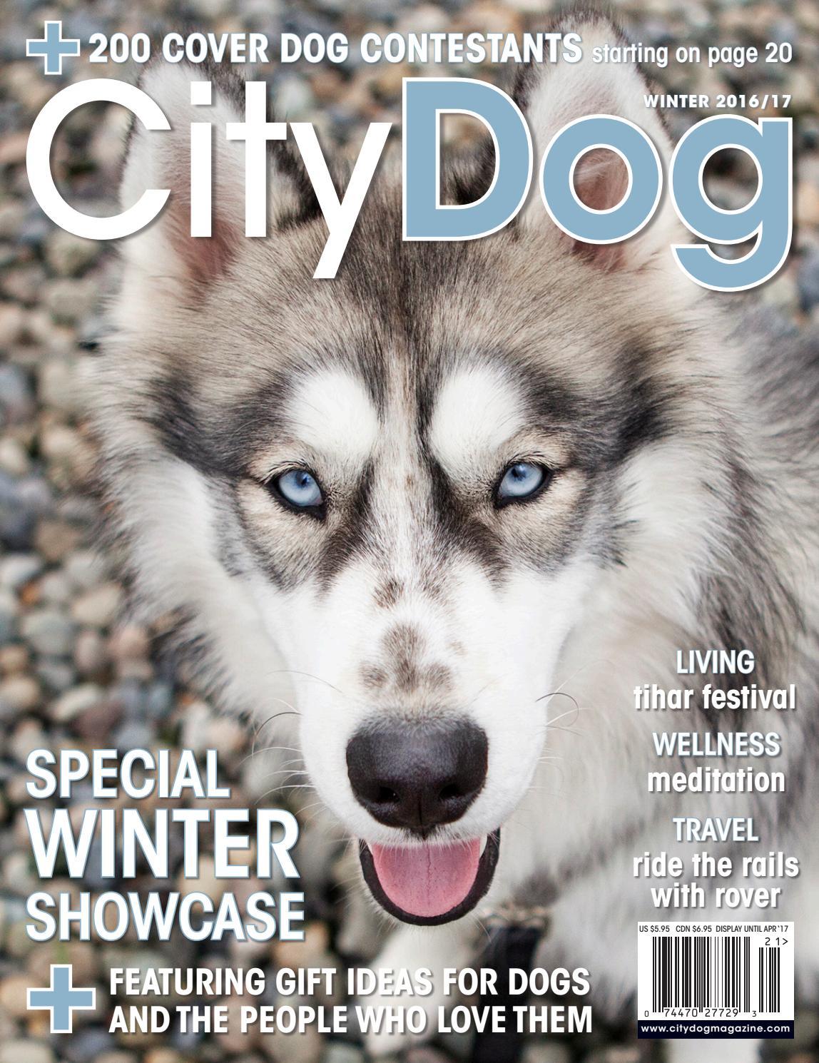 70872f98c93 CityDog Magazine Holiday-Winter 2016 17 issue by CityDog Magazine ...