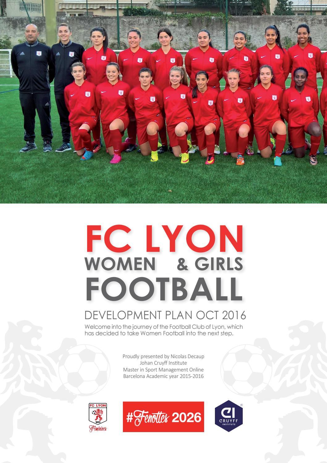 That Club amateur football feminin lyon commit error