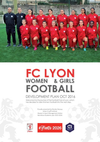 Club amateur football feminin lyon