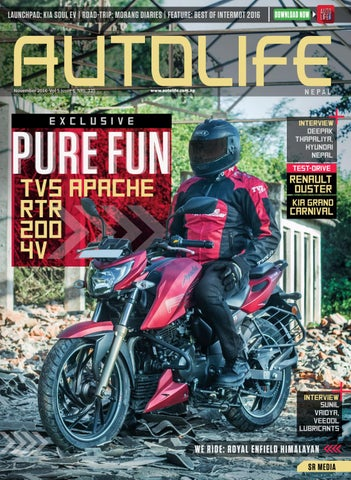 Volume 5 Issue 6 Tvs Apache By Autolife Nepal Issuu