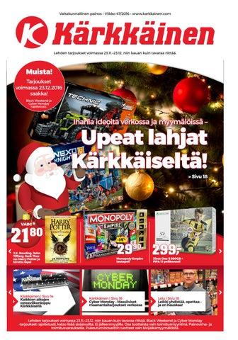 Kärkkäisen mainos (39 2016) - Sikapäivät by Tavaratalo J. Kärkkäinen ... 9a24a2ef65