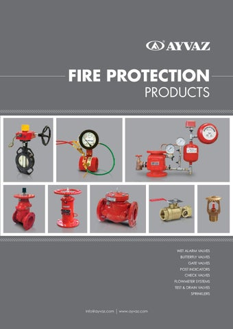 Ayvaz Fire Protection Products By Frigoteh Issuu