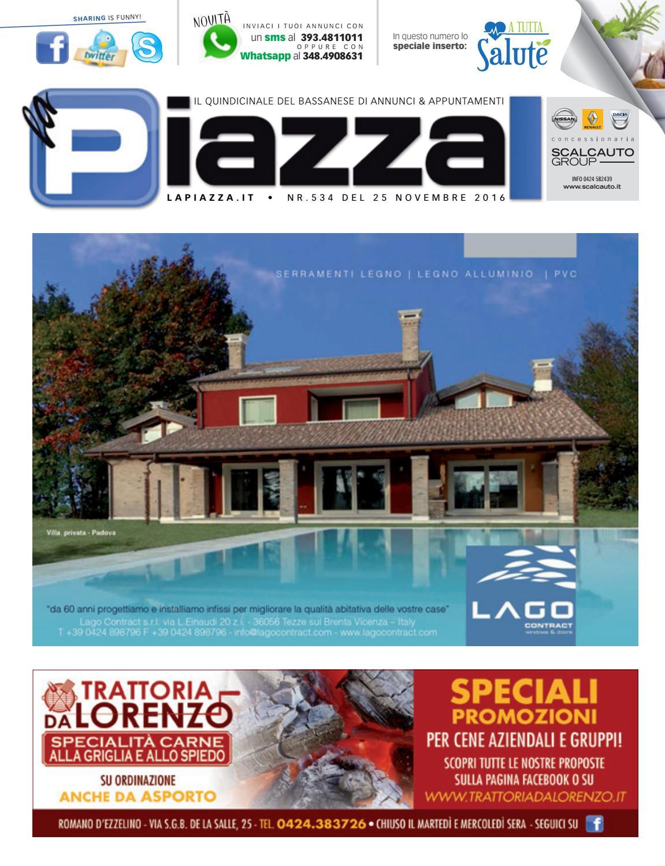 la Piazza di Bassano nr° 534 by la Piazza di Cavazzin Daniele - issuu 4d386f1a2d8