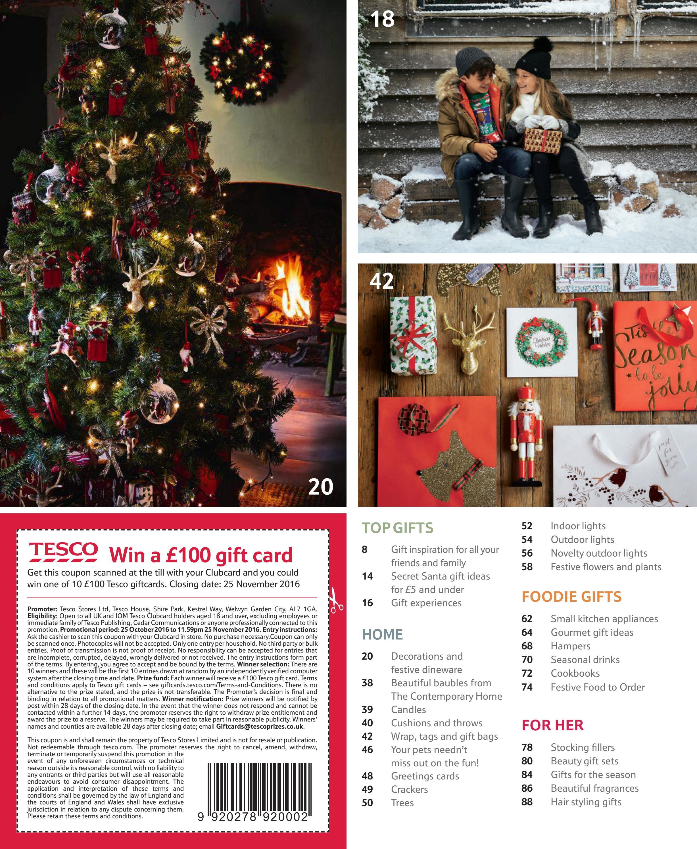 tesco christmas gift guide 2016 by tesco magazine issuu