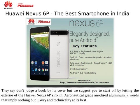 A Nexus Phone You Can't Not Have by Huawei Device India - issuu