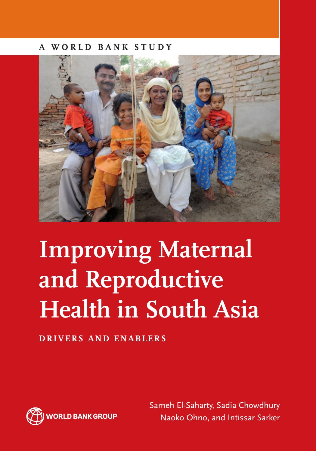 Improving Maternal and Reproductive Health in South Asia by
