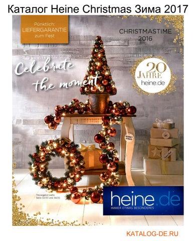 Katalog Heine Christmas Zima 2017 By