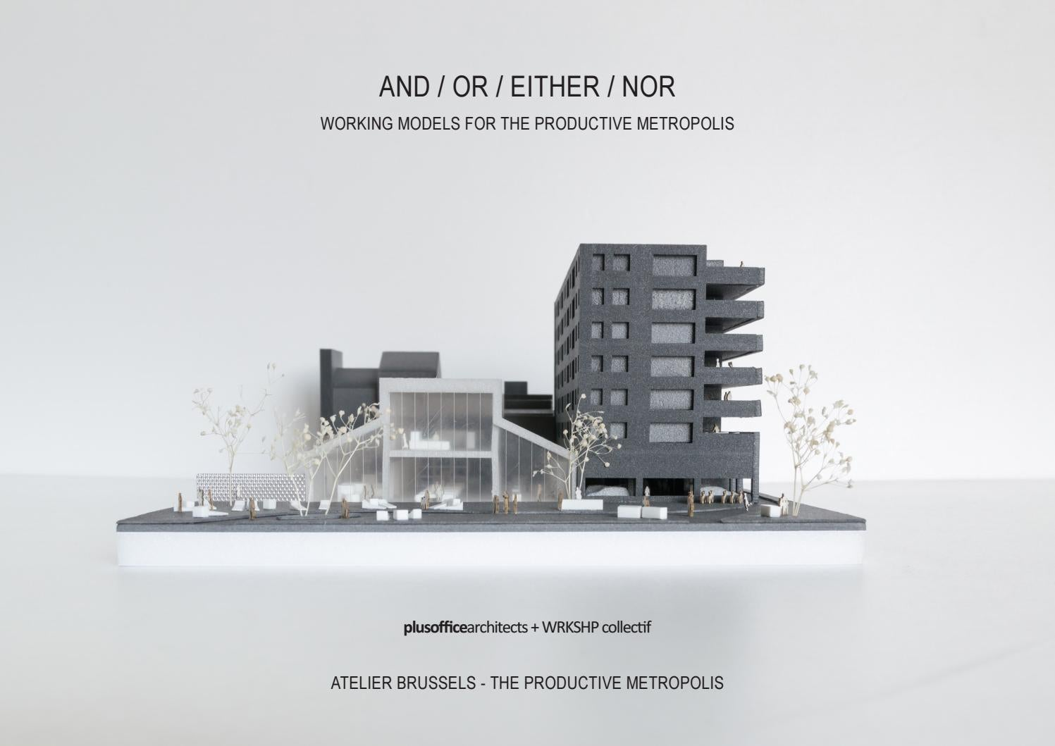 Plusoffice Architects Collectif Wrkshp Atelier Brussels