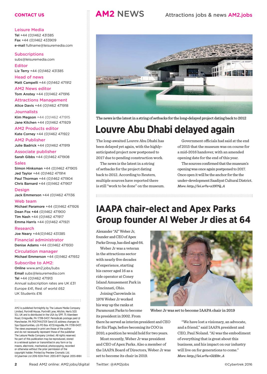 AM2 22nd November 2016 Issue 65 by Leisure Media - issuu