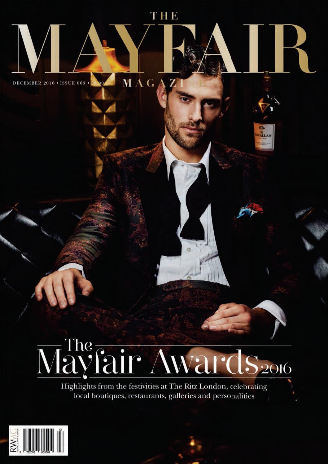 61371492a2 The Mayfair Magazine December 2016 by Runwild Media Group - issuu