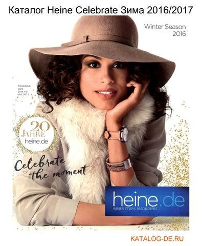 Katalog Heine Celebrate Zima 2016 2017 By Wwwkatalog Deru заказ