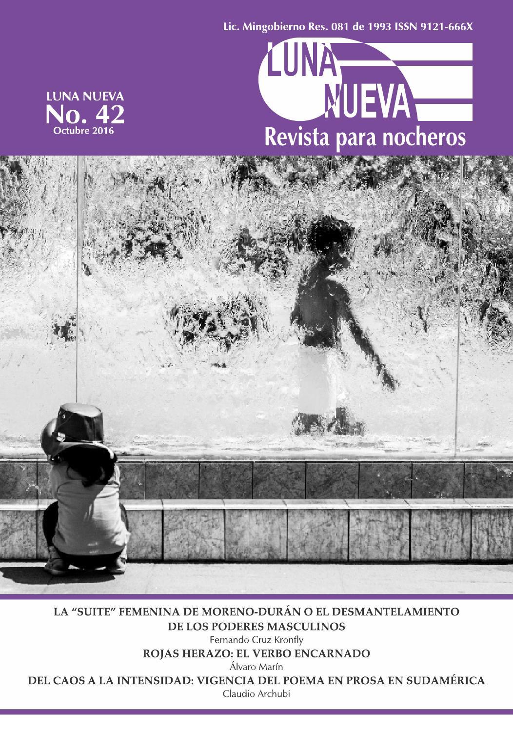Luna Nueva. No. 42. Octubre 2016. Revista de Poesía by Gabriel Ruiz ...