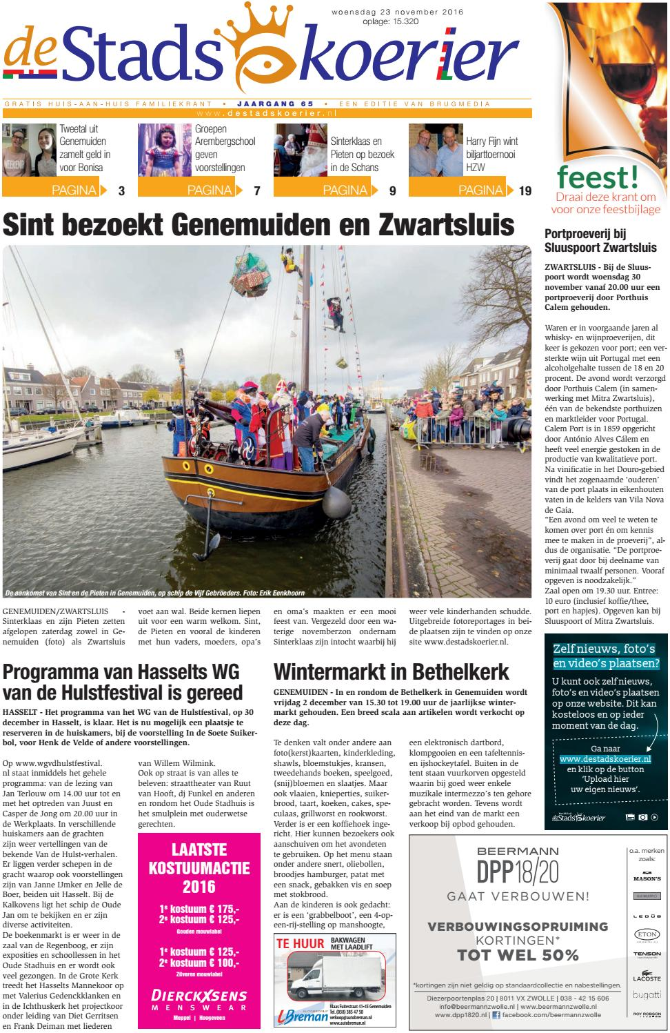 231116 Stadskoerier By Brugmedia B V Issuu