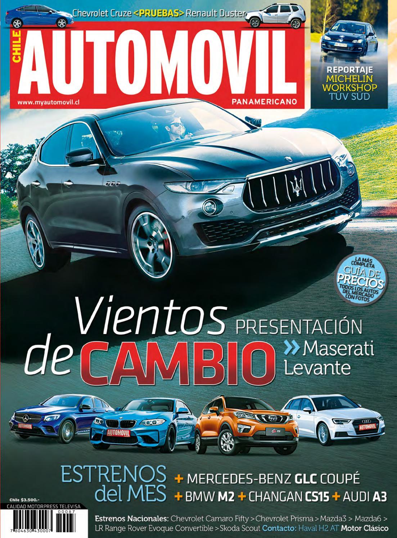 6966f136f Revista Automóvil Panamericano Edición Chilena Nº87 (Noviembre 2016) by RS  Chile - issuu