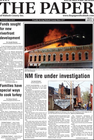 The Paper Of Wabash County Nov 23 2016 Issue By The Paper Of