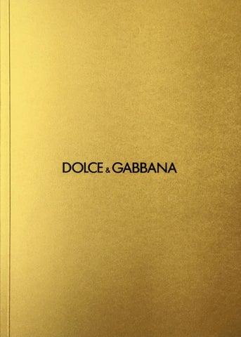 8c79c1fdd9df 2016 Men s Catalogue by Dolce Gabbana - issuu