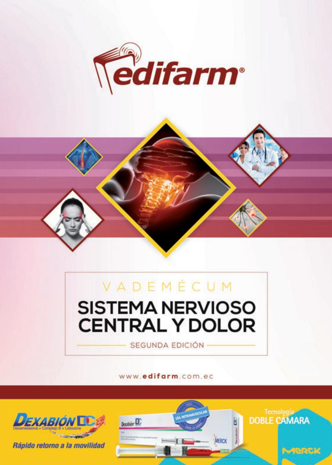 Vademécum Sistema Nervioso Central y Dolor 2016 by Edifarm