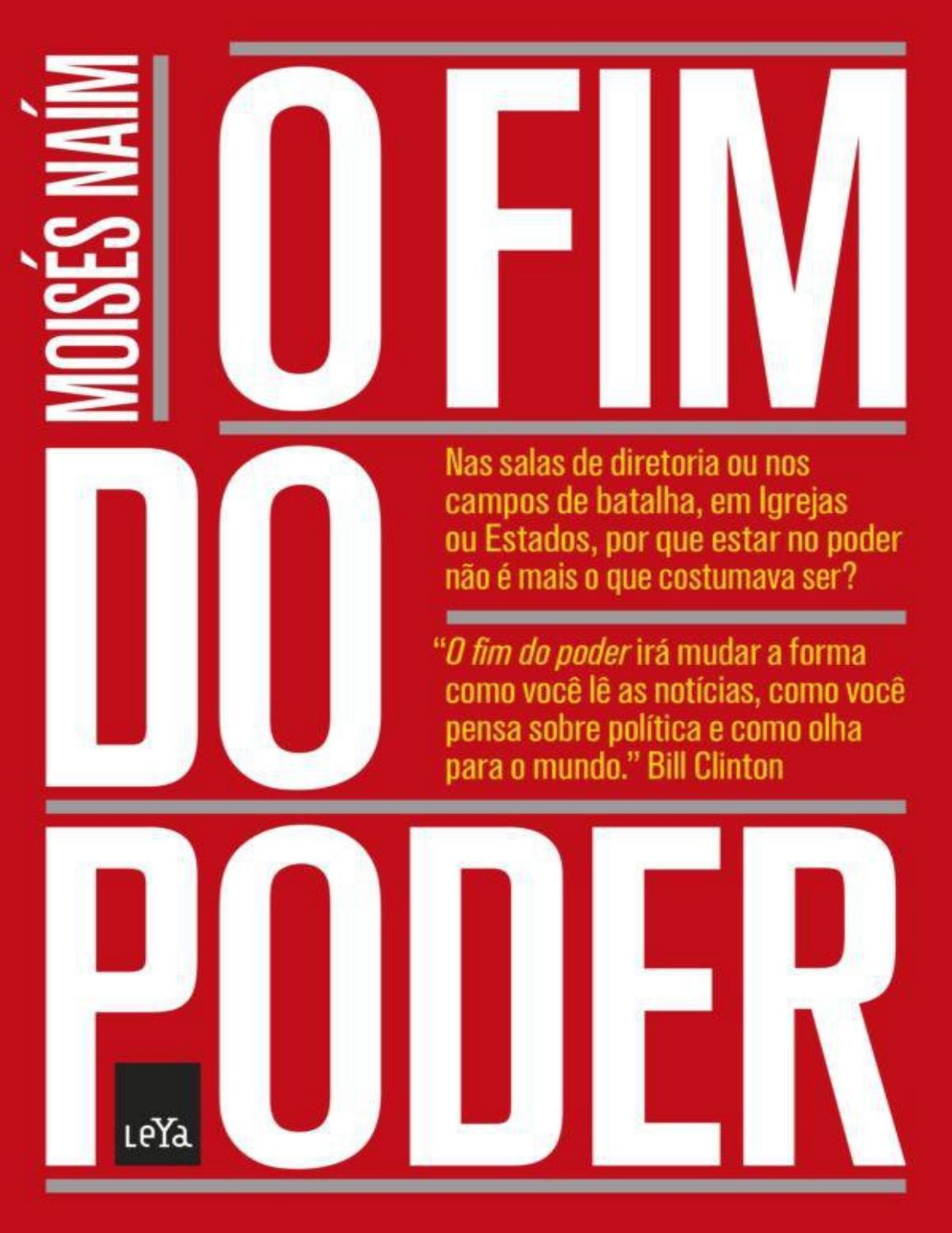 O fim do poder moises naim by thalia danielle issuu fandeluxe Image collections