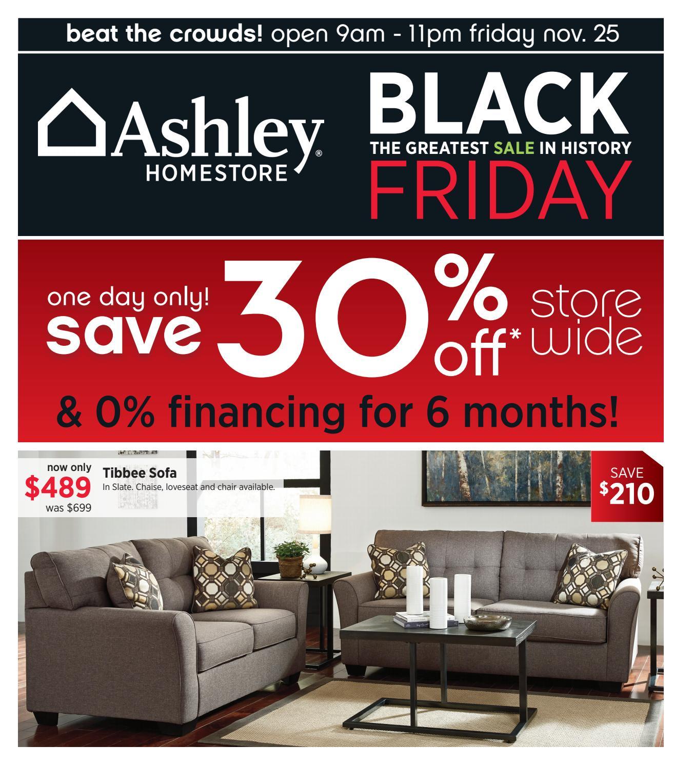 Ashley Homestore Black Friday Dartmouth Ends 25 11 16 By Ashley Homestore Atlantic Issuu