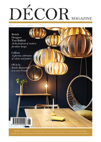 Decor Magazine By Clearvision Marketing Issuu
