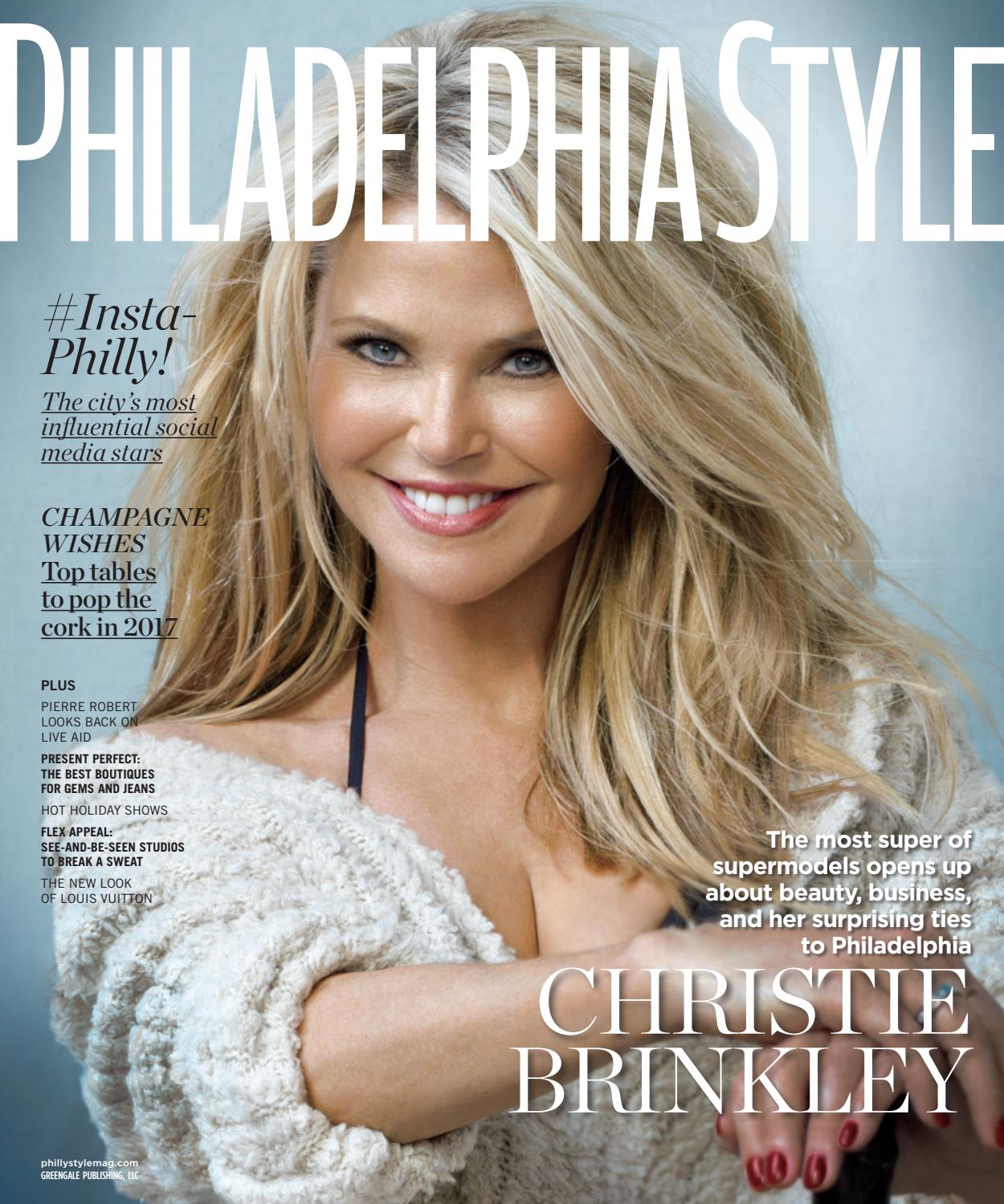 philadelphia style 2016 issue 6 winter christie brinkley