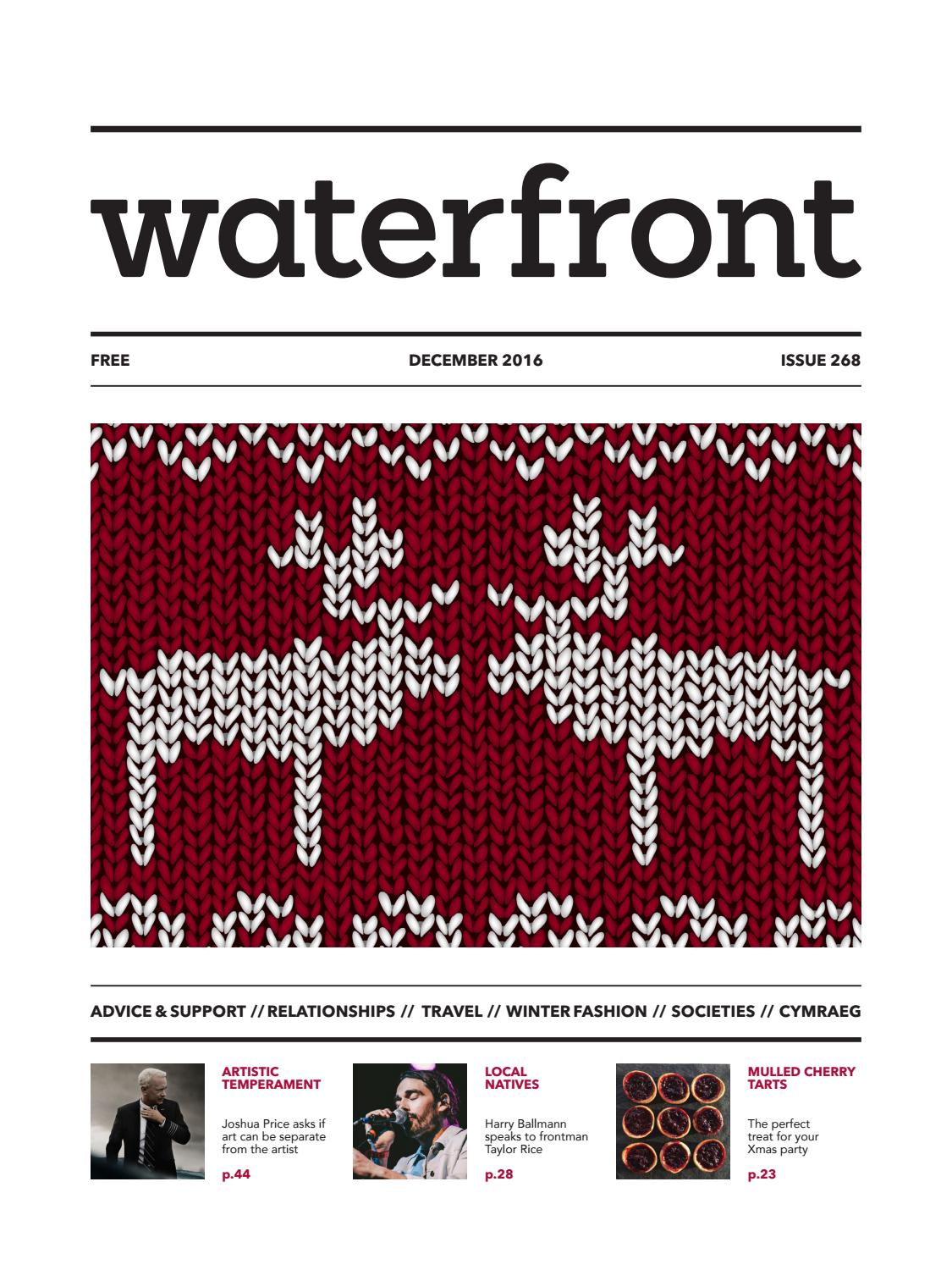 Waterfront 268 December 2016 By Issuu Tendencies Tshirt Uk Punk Cokelat Tua S
