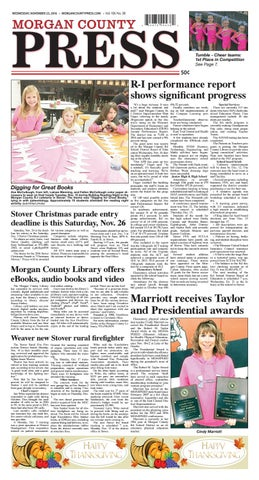 Morgan county press nov 23 2016 by pipistrelle press issuu page 1 fandeluxe Images