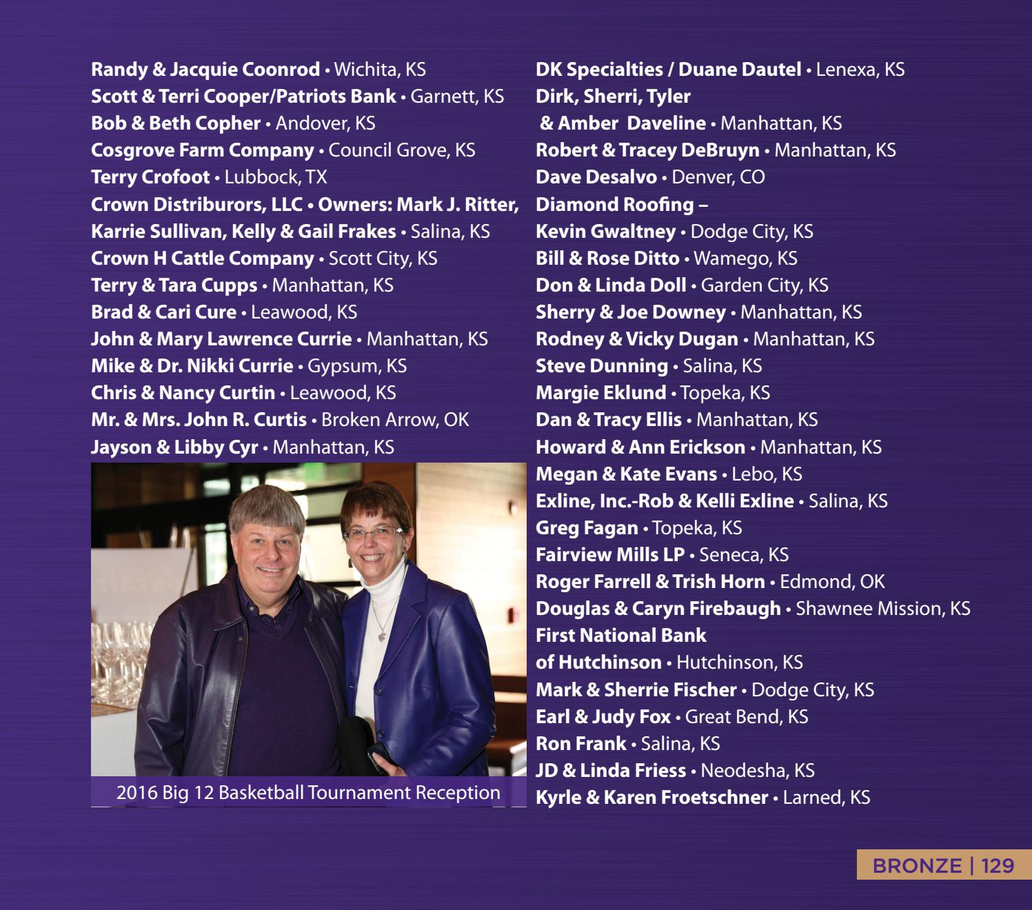 2016 Nlc Loyalty Book By K State Athletics Issuu