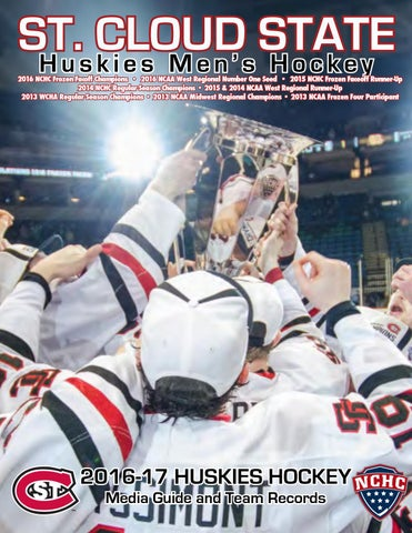 669950930da 2016-17 St. Cloud State Men s Hockey Media Guide by Tom Nelson - issuu