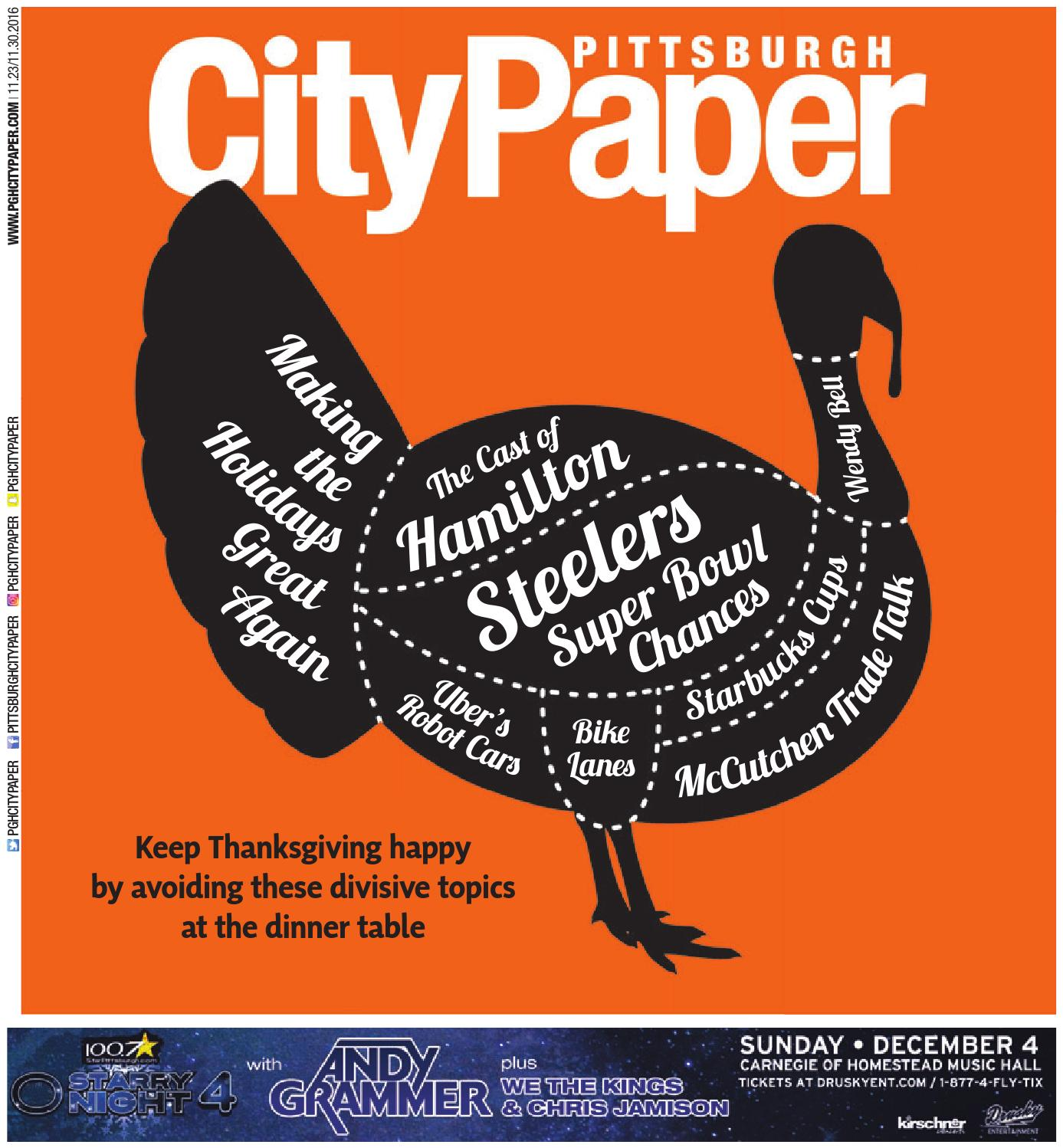 November 23 2016 Pittsburgh City Paper By Origami Diagram Likewise 3d Penguin On Issuu