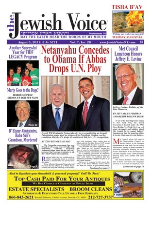 20110805 jewishvoice by mike kurov issuu page 1 fandeluxe Images