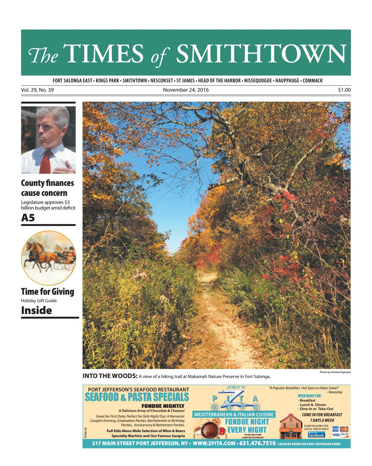 The times of smithtown november 24 2016 by tbr news media issuu negle Images