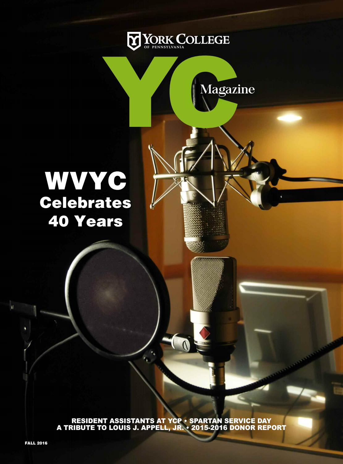 YC Magazine Fall 2016 by York College of PA - issuu 02e0d70fa429a