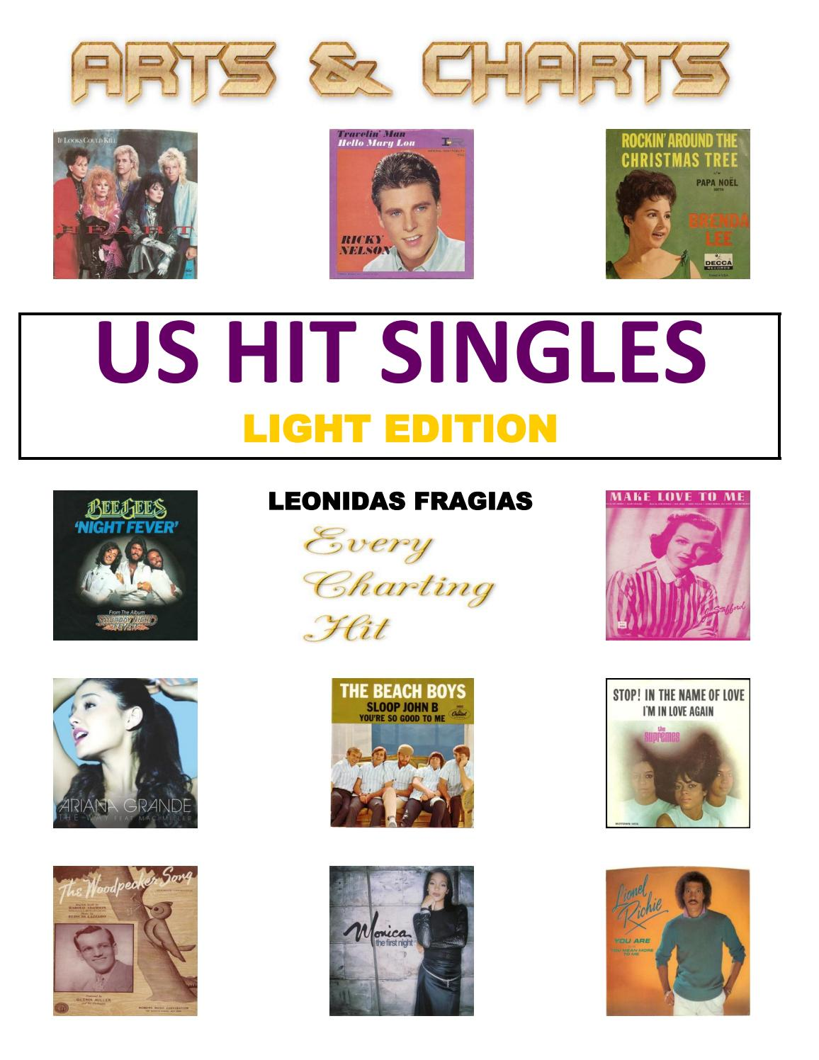US Hit Singles (1st edition) by Leonidas Fragias (Arts & Charts) - issuu