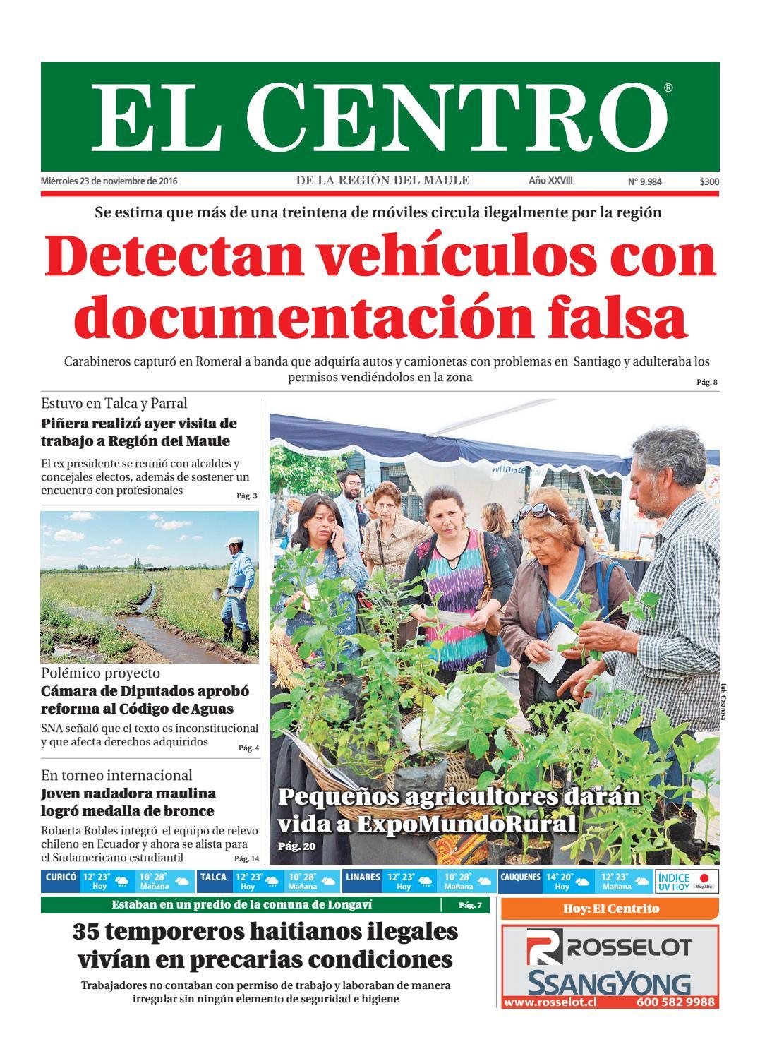 Diario 23-11-2016 by Diario El Centro S.A - issuu