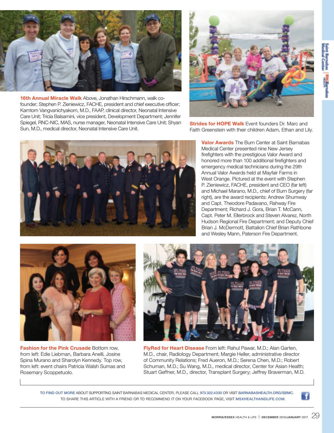Morris|Essex Health & Life:Dec/Jan2017 by Wainscot Media - issuu
