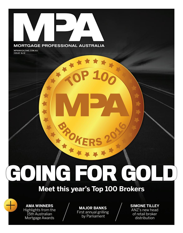 ca08192646d4 Mortgage Professional Australia issue 16.12 by Key Media - issuu