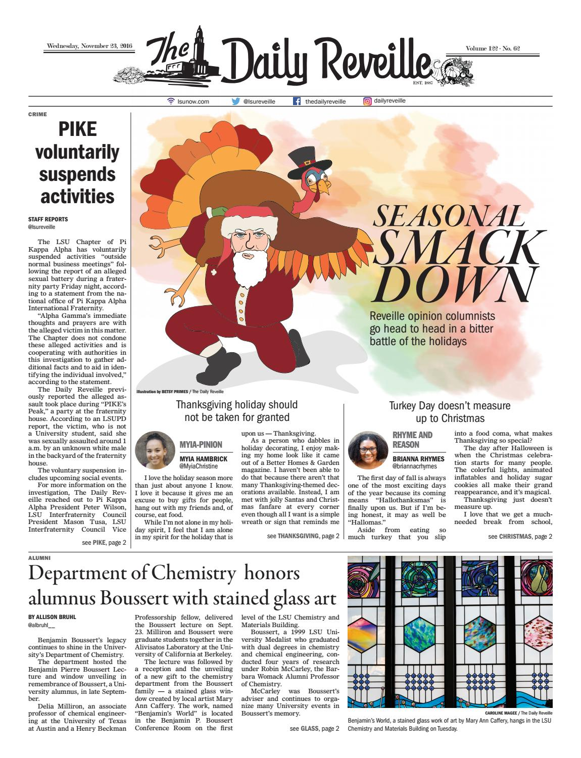 The Daily Reveille 11-23-2016 by The Reveille - issuu