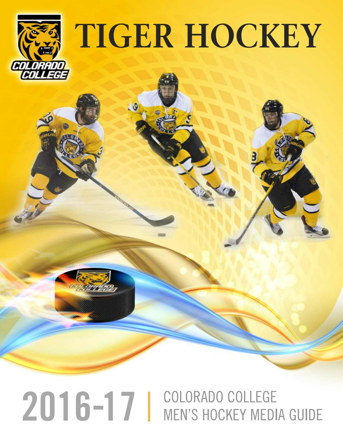 new style 16622 45b06 Colorado College | Tiger Hockey Media Guide 2016-17 by ...