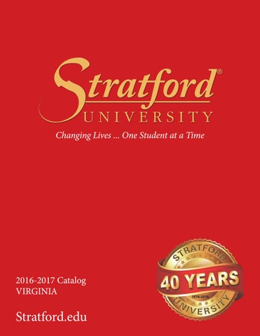 Stratford university va catalog by leona etheridge issuu page 1 fandeluxe Image collections