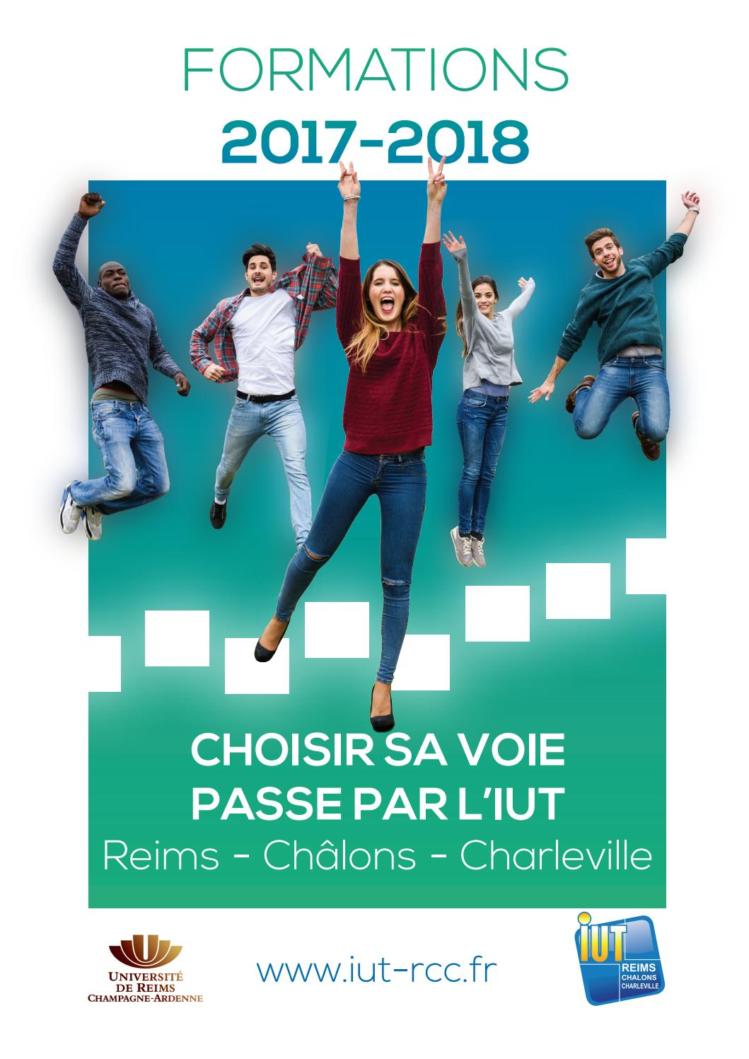 IUT Reims Chlons Charleville Plaquette 20172018 by Merand