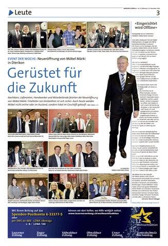 Anzeiger Luzern 4723112016 By Anzeiger Luzern Issuu