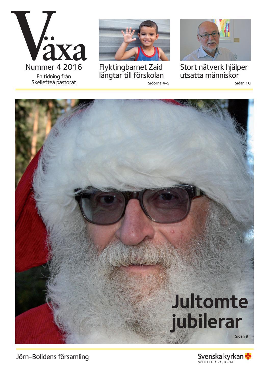Jultomte jubilerar - Svenska kyrkan