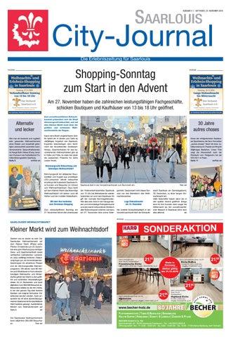 Saarlouis City Journal by Saarbrücker VerlagsService GmbH - issuu