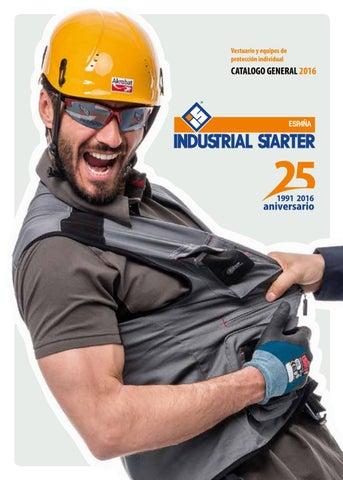 EPIS y Uniformes ICOM Textil Catalogo INDUSTRIAL STARTER 2016 by ... b03311e462c5f