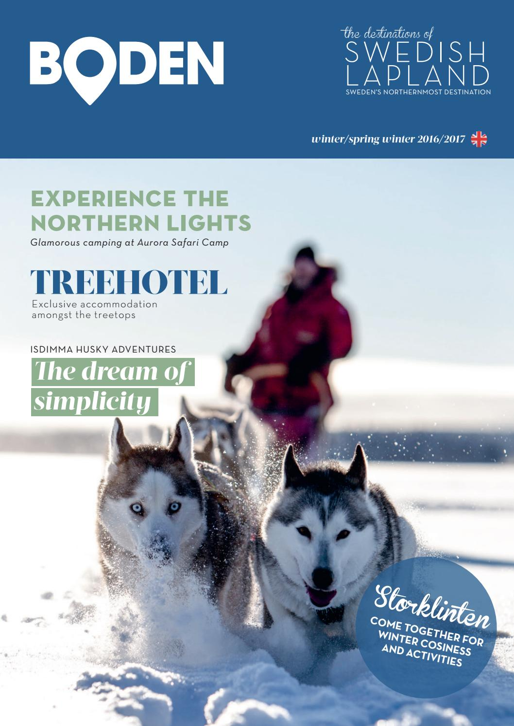 Destinations of swedish lapland boden winter spring winter for Boden winter 2016